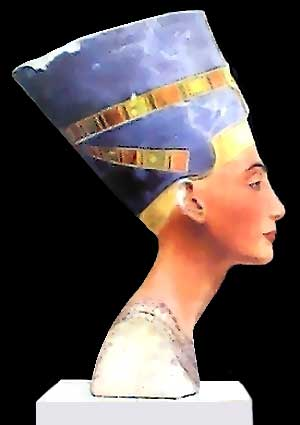 Queen Nefetiti Bust - ancient egypt history.