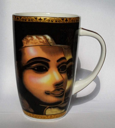 Egyptian Porcelain Mug PORM03