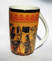 Egyptian Porcelain Mug  PORM02