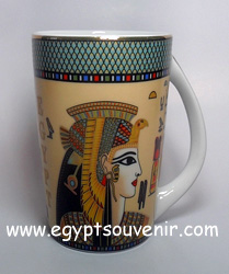 Egyptian Porcelain Mug  PORM04