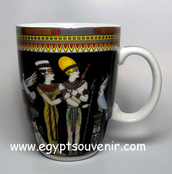 Egyptian Porcelain Mug  PORM08