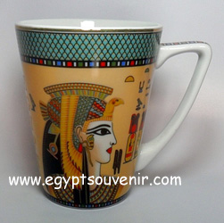 Egyptian Porcelain Mug  PORM09