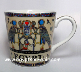 Egyptian Porcelain Mug  PORM23