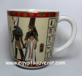 Egyptian Porcelain Mug  PORM27