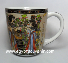 Egyptian Porcelain Mug  PORM29