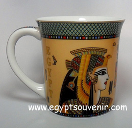 Egyptian Porcelain Mug  PORM35