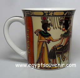 Egyptian Porcelain Mug  PORM36