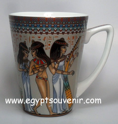 Egyptian Porcelain Mug  PORM10