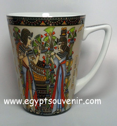 Egyptian Porcelain Mug  PORM13