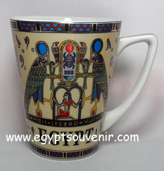 Egyptian Porcelain Mug  PORM14