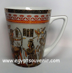 Egyptian Porcelain Mug  PORM15