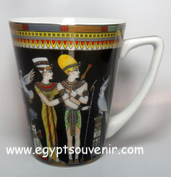 Egyptian Porcelain Mug  PORM16