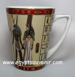Egyptian Porcelain Mug  PORM17