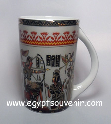Egyptian Porcelain Mug  PORM06