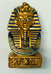 King Tut Ankh Amen Statue ( Bust ) - Egyptian Sculptures, Statues